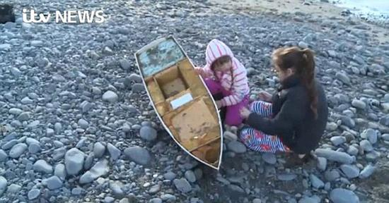 美国小学生造小船放入海中 漂流数月抵达英国(图)